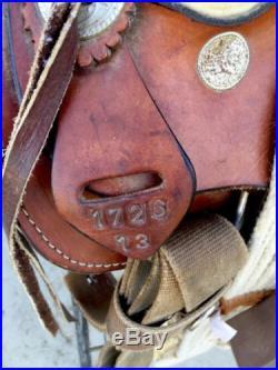 13 Kids Child Youth Quality Western Saddle