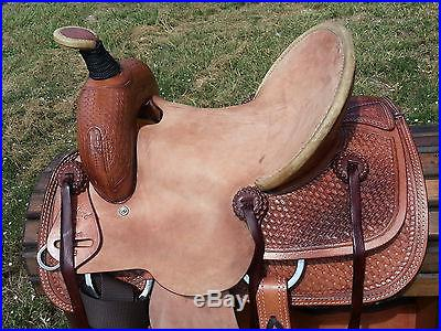 13 Shepherd 7 All Around Ranch Roping Youth Kids Saddle No Reserve