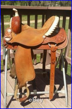 14 Allen Ranch Western Barrel Racing Saddle Nearly New