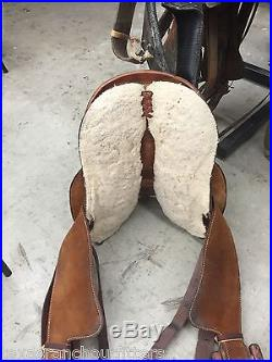 14 Billy Cook Barrel Saddle Greenville Tx @ Texas Ranch Outfitters Yantis Texas