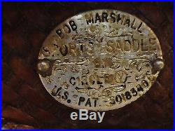14 CIRCLE Y BOB MARSHALL WESTERN BARREL RACING SADDLE