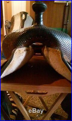 14 Circle Y Barrel Saddle (Proven)