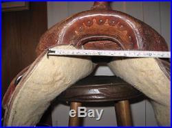 14 Circle Y The Proven Barrel Saddle / Barrel Racing Saddle