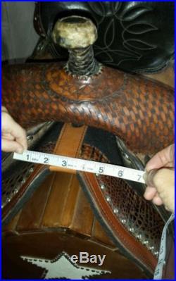 14 Double J pro barrel saddle