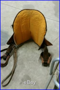 14 Original Bob Marshall Treeless Sports Barrel saddle