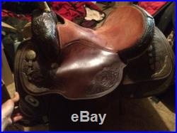 15 1/2 Circle Y Western Saddle