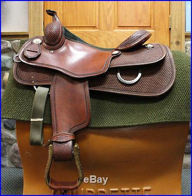 15 1/2 Martin Reining Saddle