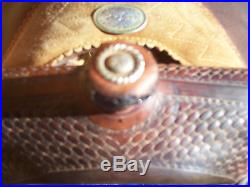 15.5 16 Western Cutter Billy Cook Cutting Saddle also good Pleasure Trail