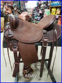 15.5 New McCall McLite Western All-Around Saddle A117-520