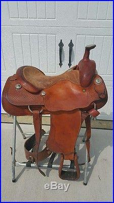 15.5 Original Billy Cook Roping Saddle