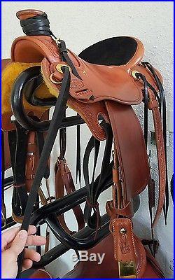 15.5 mccall extra light diamond m wade tree saddle