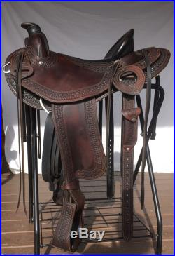 15 About the Horse Light Trail Saddle Western