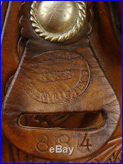 15 BILLY COOK WESTERN PLEASURE / REINING SADDLE