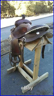 15 Barrel Saddle
