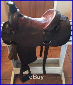 15 Billy Cook Roping Saddle