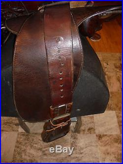 15 Circle Y Western Pleasure/ Show Saddle
