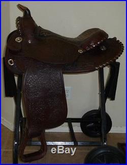 15 Circle Y Arab Arabian Equitation Pleasure Trail Saddle # 2123