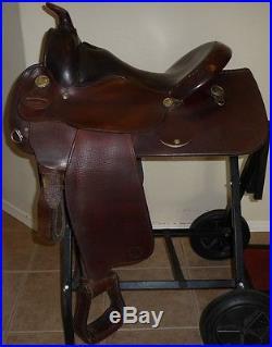 15 Circle Y Arab Arabian Pleasure Trail Saddle # 2133