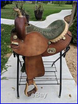 15 Circle Y NBHA Edition Barrel Racing Saddle