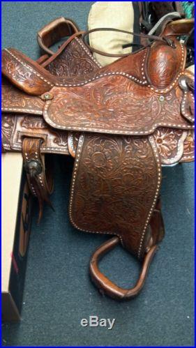 15 Circle Y Saddle, All Original, NO RESERVE
