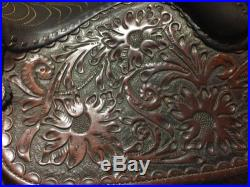 15 Circle Y Saddle With Matching Breast Collar