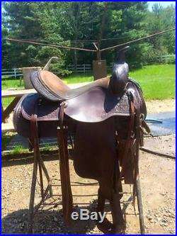 15 Circle Y Western Saddle