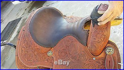 15 Clay O'Brian Cooper Cactus Roping Saddle