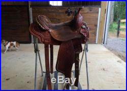 15 Court's Sharon Camarillo Barrel Saddle