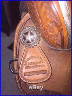 15 Debra Sibley Ultra Flex Barrel Saddle Horse Tack Used