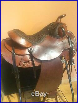 15 Don West Custom Made Gaited Pleasure Trail Ranch Western saddle