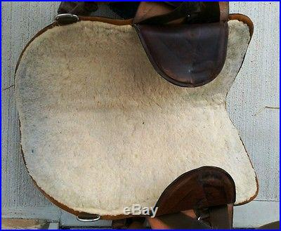 15 Original Bob Marshall Barrel Racing Saddle