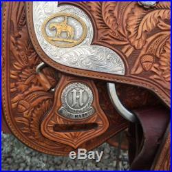 15 Phil Harris Show Saddle Silver Horn