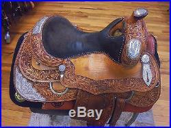 15 Silver Mesa Custom Made Silver Western Show Saddle