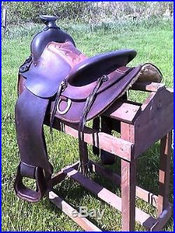 15 Western Roping Ranch Horse Saddle