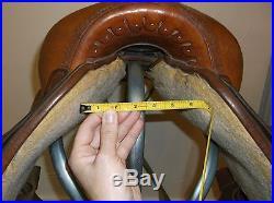 15 Wide Circle Y Flex Lite Topeka Trail Saddle Pleasure Western FQHB Tree used