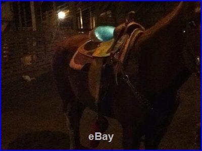 15 madcow barrel saddle