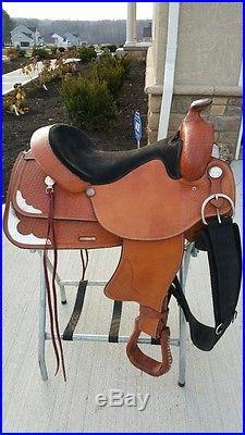 16.5 Johnny Ruff's Trail Saddle Nice