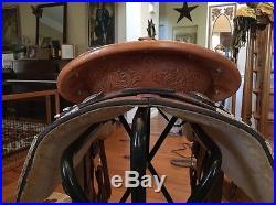16 Big Horn Western Show Saddle
