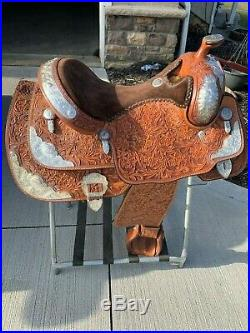 16 Billy Cook Show Saddle