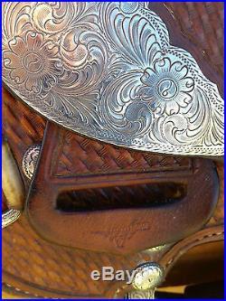 16 Broken Horn Western Pleasure Show Saddle