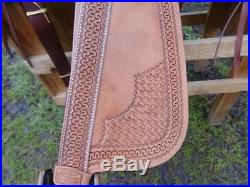16 COWBOY WESTERN WADE RAWHIDE ROPER ROPING RANCHER RANCH LEATHER HORSE SADDLE