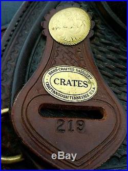 16 Crate Pleasure Trail Saddle