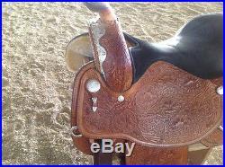16 Circle Y Equitation Show Saddle