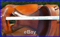 16 Circle Y Reining Saddle with Tack, Reining/ShowithTrail
