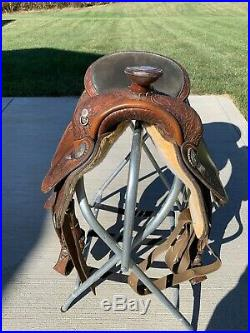 16 Circle Y Show Saddle