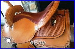 16 Circle Y Team Penning Saddle Team Penner, New and Gorgeous