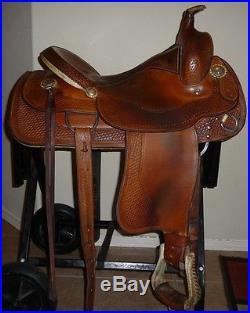 16 Crates Roper Reiner All Purpose Ranch Saddle # 4532-4