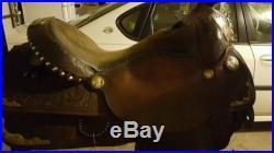 16 Custom Handmade By Circle Y Saddle