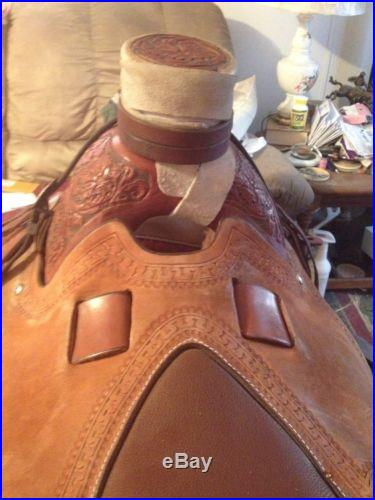 16 Custom Wade Saddle