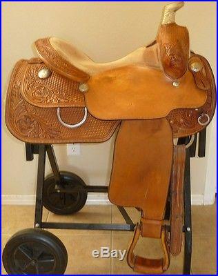 16 Dale Chavez All Around Saddle